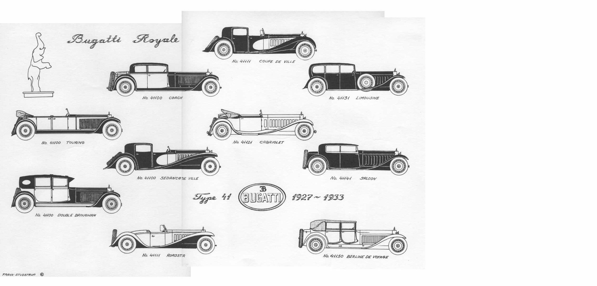 emerging Bugatti fan.
