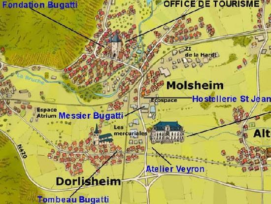 the bugatti revue 9 1 tour of molsheim. Black Bedroom Furniture Sets. Home Design Ideas
