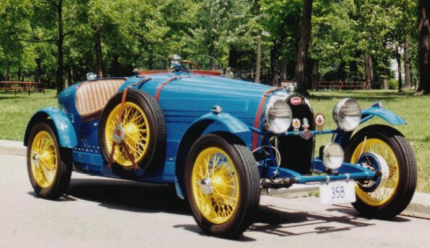 The Bugatti Revue