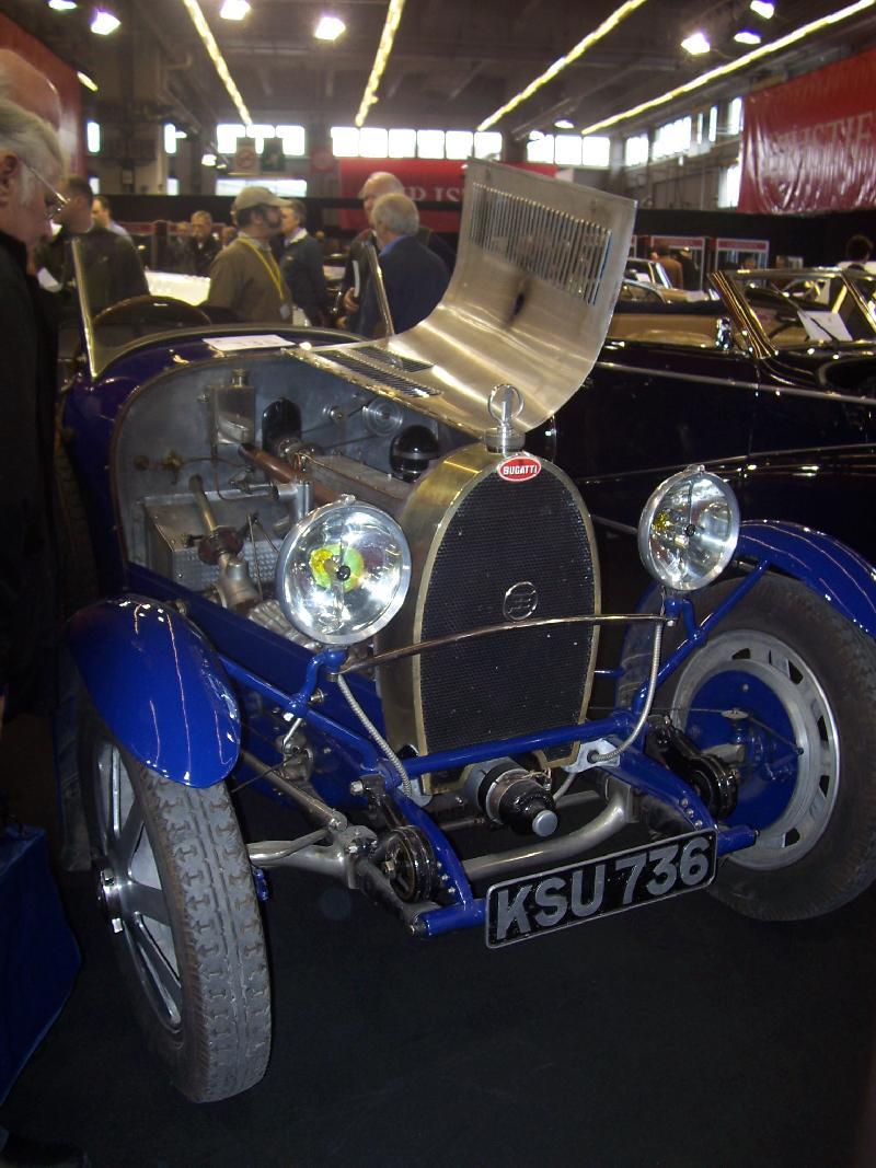 Bugattis For Sale >> the Bugatti revue, 12-1, Bugattis at Retromobile 2007