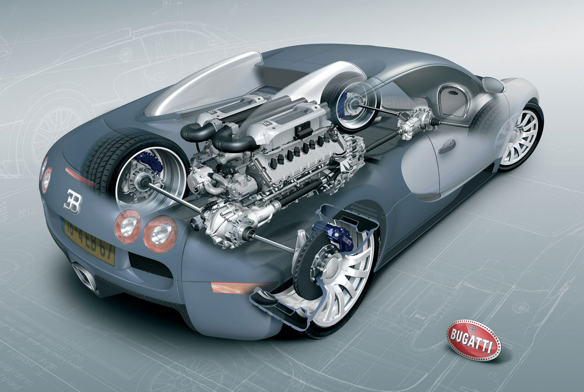 revived-7 Cozy Bugatti Veyron Grand Sport Vitesse Engine Cars Trend